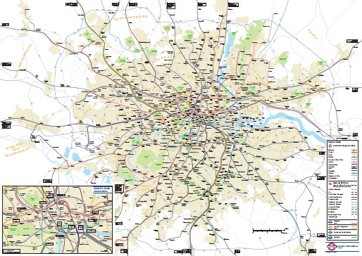 Oyster And National Rail Blog Archive Geographical Rail Map - London map pdf 2015