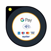 Oyster Reader with GPay branding
